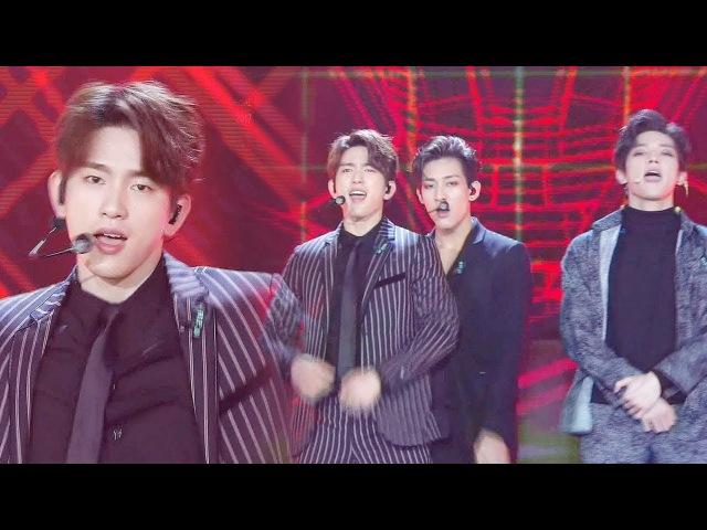 GOT7·NCT127 파워풀한 군무로 재현한 신화의 'Hey Come on ' @2017 SBS 가요대전 1부 20171225
