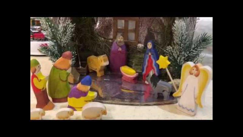 Рождественский вертеп своими руками Фикс прайс нам в помощь