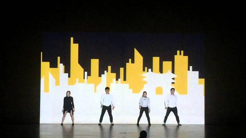 Video mapping dance 비디오 맴핑 댄스 2016 연세대학교 JazzFeel