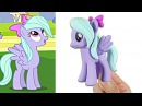 Custom My Little Pony FLITTER MLP Toy Figure DIY SweetTreatsPonies