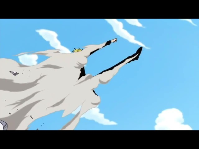 Sanji's epic entance