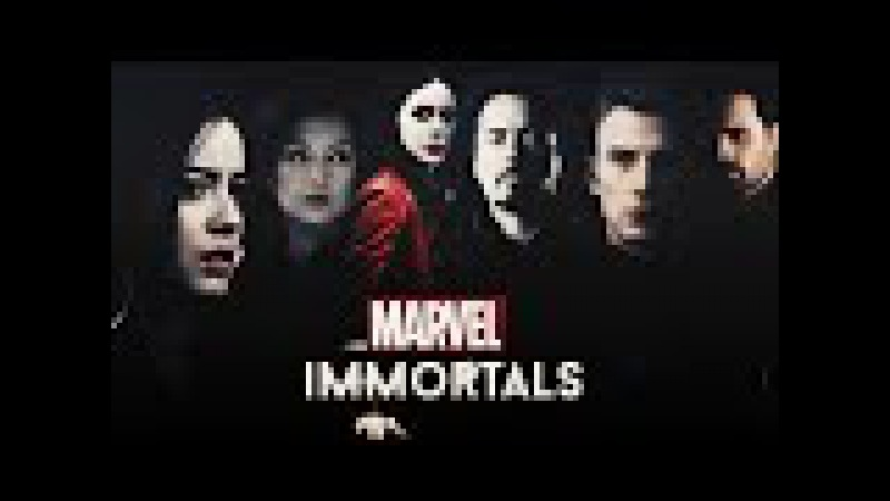 Marvel Multibadass Collab | Immortals