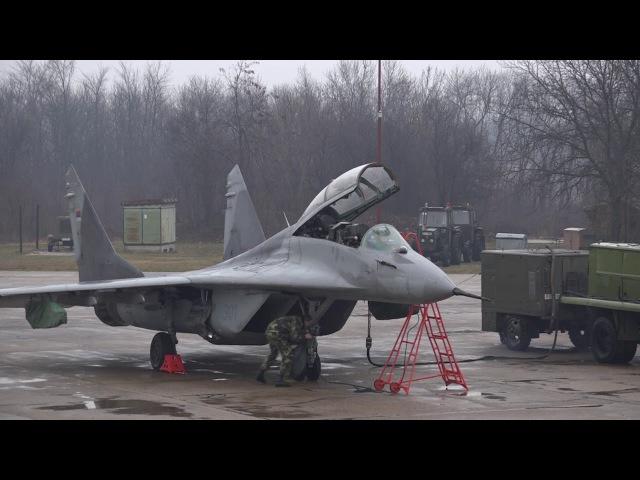 Prikaz uzbunjivanja dežurne jedinice lovačke avijacije u sistemu PVO