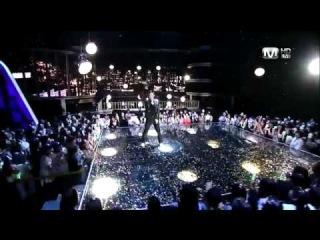 [110609] HD Kim Hyun Joong - Let Me Go + Please + Break Down [M! Countdown Comeback Stage].flv