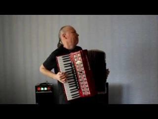 """Сиреневый туман"" Николай Донецкий (Accordion version).Музыкант (аккордеонист) Казани."