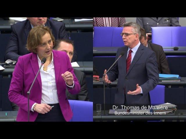 ► AfD Abgeordnete befragen Bundesinnenminister Thomas de Maizière zu sicheren Herkunftsstaaten