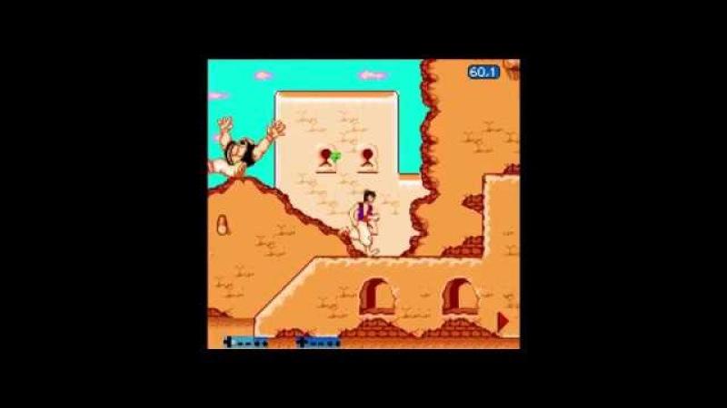 Aladdin Pirate FCEUX NO DEATH RUN by Azatron