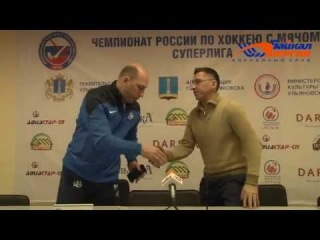 Пресс-конференция Н. Кадакина и В. Манкоса