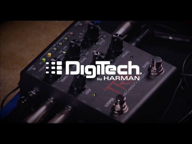 Using DigiTech TRIO with acoustic guitar: demo and tutorial