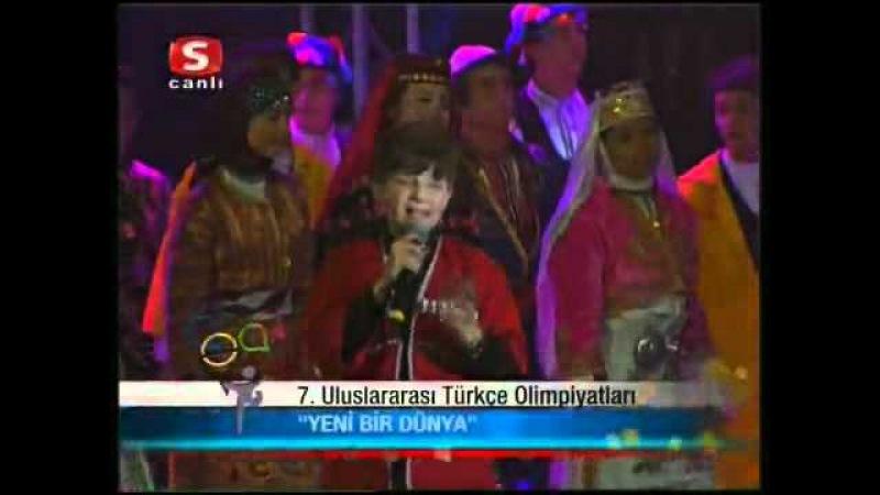 7 Türkçe Olimpiyatları Korosu Kapanış Şarkısı Yeni Bir Dünya