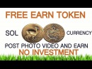 FREE AIRDROP TOKEN SITE SOL CURRENCY EARN TOKEN BY POST PHOTO INSTANT PAYOUT ETH WALLET MiningGurus