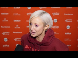 Andrea Riseborough talks Mandy and the darkness provided by director Panos Cosmatos
