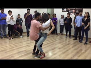 Bachata Sensual by Cornel and Rithika at Impetus-The Studio