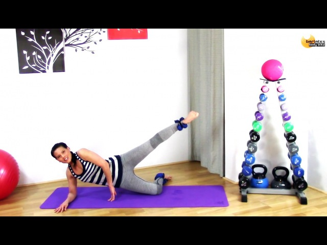 FREE Barre Ankle Weight Lower Body Workout BARLATES BODY BLITZ Ankle Weight Lower Body Sculpt