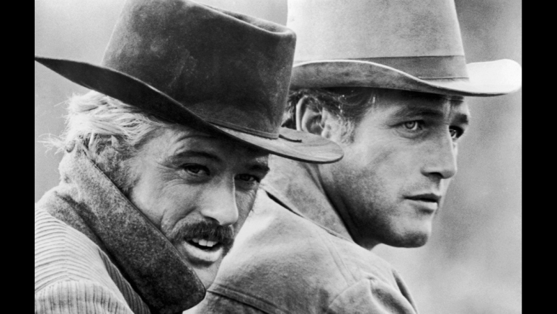 Буч Кэссиди и Сандэнс Кид 1969 Butch Cassidy and the Sundance Kid реж Джордж Рой Хилл драма криминал вестерн