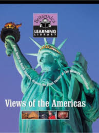 Book cover Britannica Learning Library 013 - Views of the Americas