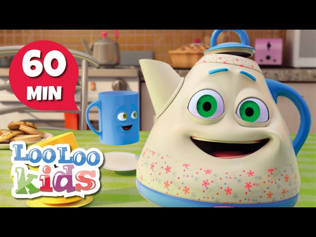 I'm a Little Teapot Educational Songs for Children LooLoo Kids