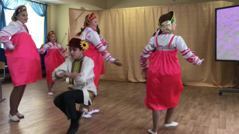 Стилизованный русский народный танец Субботея Хореографический коллектив Метелица г Тверь