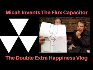Micah Invents The Flux Capacitor