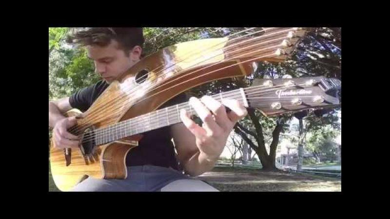 Dust In The Wind Kansas Harp Guitar Cover New Album