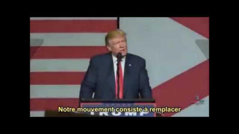 Un discours de Donald Trump que les médias ne veulent pas vous montrer