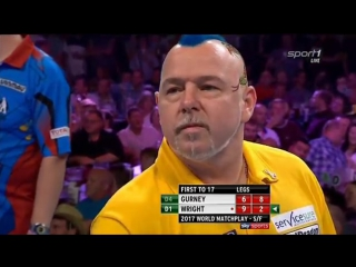 Daryl Gurney vs Peter Wright (PDC World Matchplay 2017 / Semi Final)