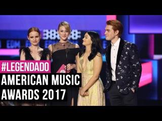 Камила и каст  сериала «Ривердейл»  на  «American Music Awards»