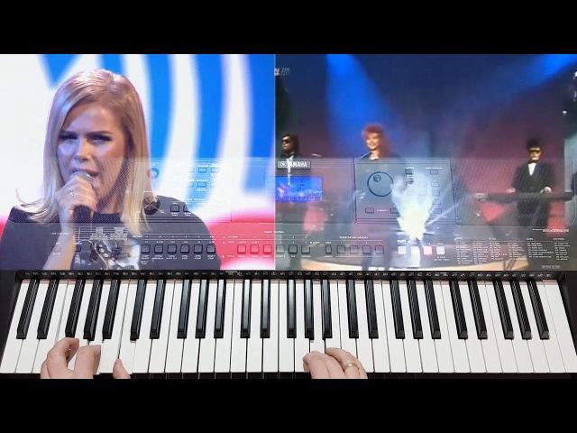 C. C. Catch, Modern Talking, Саруханов Игорь Style Dance1 Yamaha PSR-E453PSR-E443