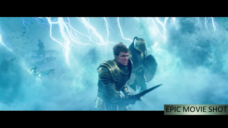 Битва в ущелье Медив создает магический щит из молний Смерть Каллана Лотара Варкрафт 1080p60