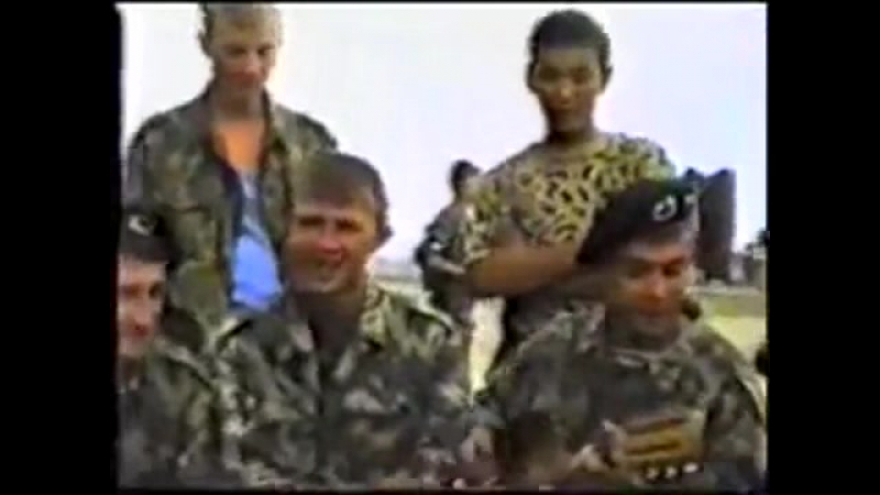 Аргун 1996 год Чечня в ч 5385 303 ОБОН Белые Медведи 101 бригада