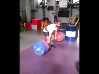 Аркадий Шалоха - тяга 240 кг на 8