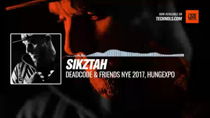 Techno music with @sikztah Deadcode Friends NYE 2017 Hungexpo Budapest Hungary periscope