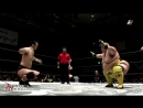 Hideki Suzuki, Kikuta, Uto vs. Ryota Hama, Shogun Okamoto, Yasufumi Nakanoue (BJW - Saikyo Tag League 2017 - Finals)