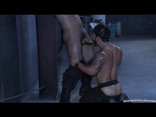 Oiled tattooed gay hunks rafael lords ryan cruz have hardcore anal sex