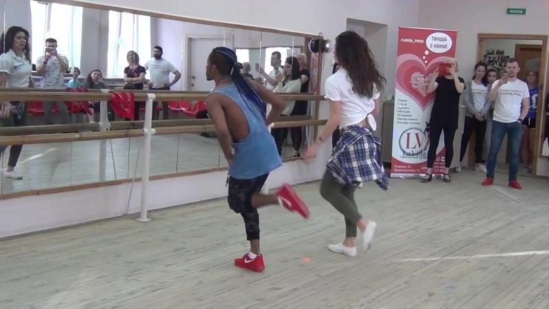 Salsa Daniel Torriente и Мария La Cubana МК в LaVida 11 02 2018