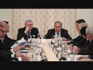 Выступление С.В.Лаврова на заседании Наблюдательного и Попечительского советов МГИМО