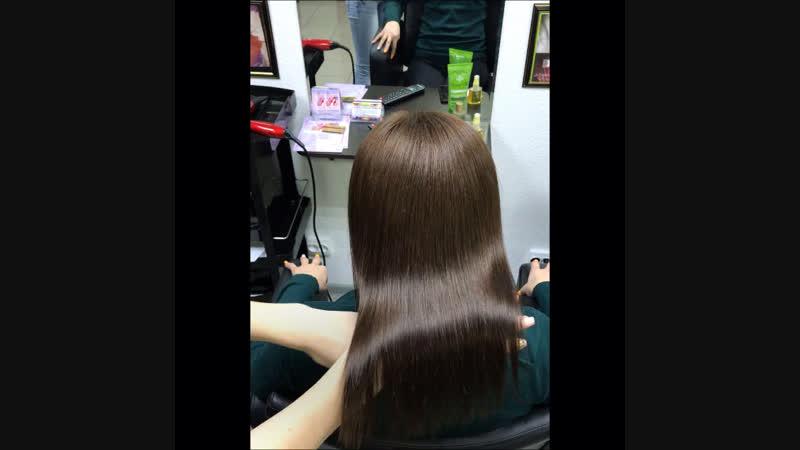 Керапластика для волос Виктории