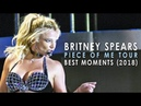 Britney Spears - Piece Of Me Tour Best Moments (2018 Compilation)
