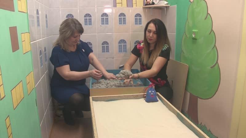 Гончарные мастеские, комнаты релаксации, рисование песком, и лечебная физкультура в детском саду
