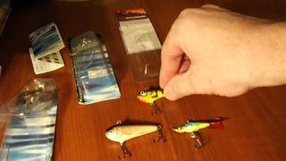Зимний воблер salmo  chubby darter  и балансир мечта рыболова