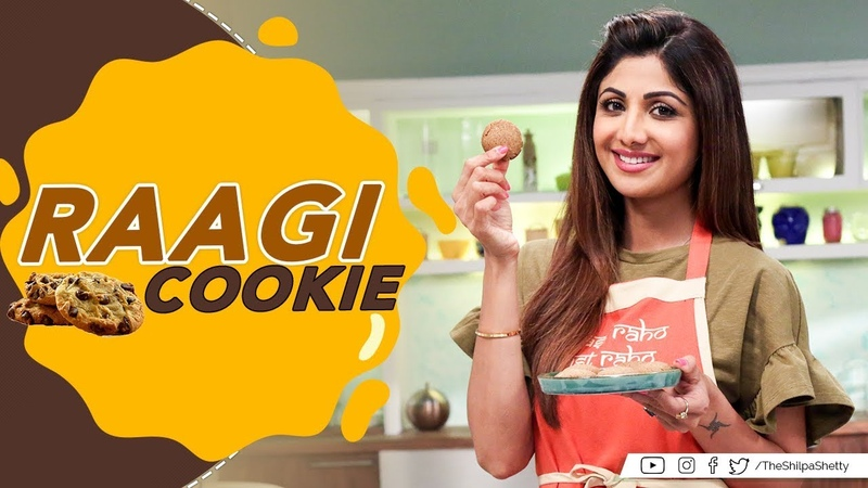 Raagi Cookies | Shilpa Shetty Kundra | Healthy Recipes | Nutralite