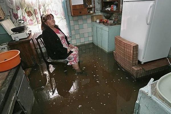 вашу квартиру затопило