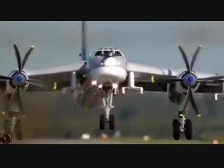 Tupolev tu-95 bear, russian air force.