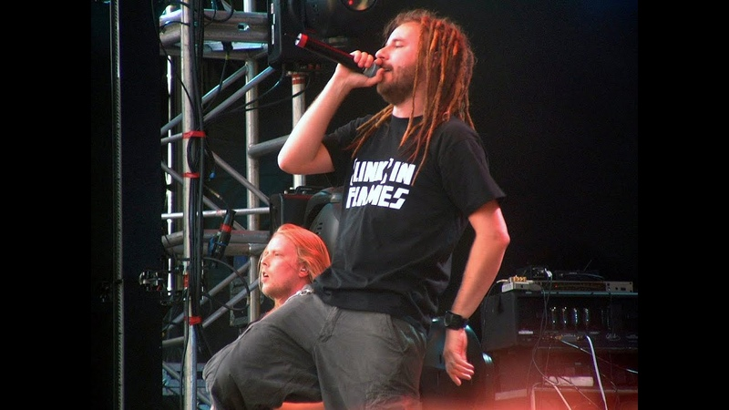 In Flames - Black White Live at Hultsfred HD
