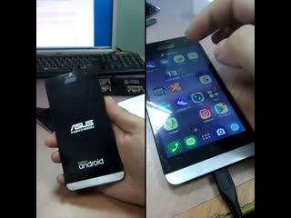 Меняем дисплей и заднюю крышку Asus Zenfone 5