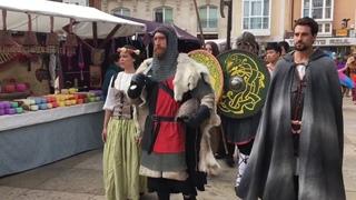 : Fiestas en Burgos. Cidiano.
