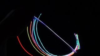 Выпуск #5. Холодный неон (el wire) 2 3 мм на шлейфе.