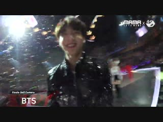 181212 bts ending finale self camera @ 2018 mama fans' choice in japan