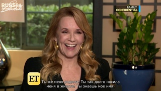 Madelyn and Zoey Deutch Interviewed Lea Thompson [rus sub]