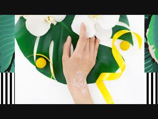 Hna Alina | white henna art